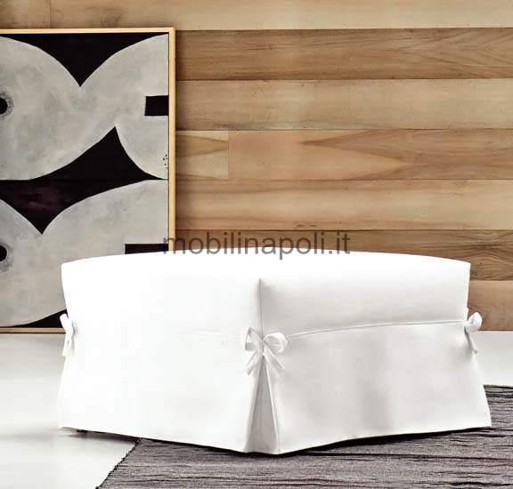 Divano samoa vanity puff letto for Puff divano