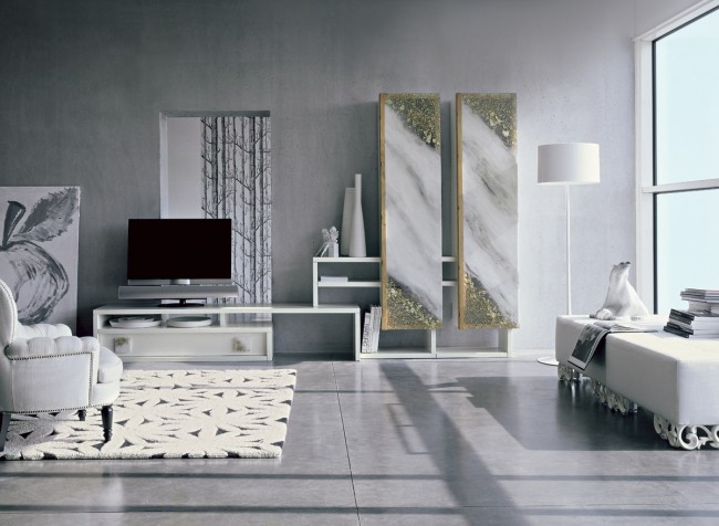 Soggiorni moderni mobili napoli for Mobili giorno moderni